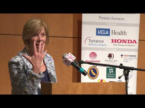 Janice Hahn speaks at Sunrider International Lunch with Our Leader - Torrance CA April 25, 2018