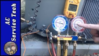Charging Freon: Checking the Freon R22 Refrigerant Charge Step By Step and How to tell if its Low!