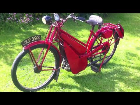 James  Autocycle 98cc 1948