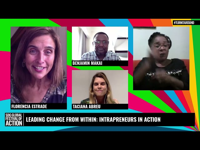 In Conversation: Leading Change From Within: Intrapreneurs in Action (French)