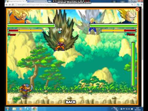 dragon ball z fighting fusion