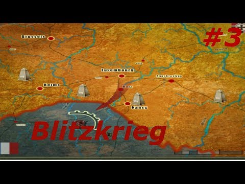 The Fall of France! Blitzkrieg part 3!