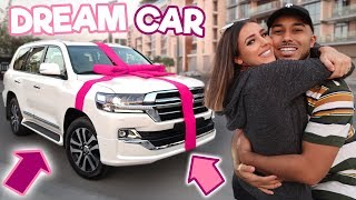 SURPRISING MY GIRLFRIEND WITH HER DREAM CAR!!! **EMOTIONAL**