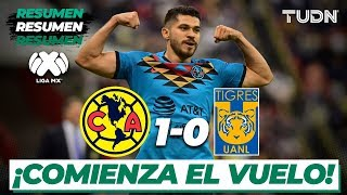Resumen Y Goles | América 1 - 0 Tigres | Liga Mx - Cl 2020 - J2 | Tudn