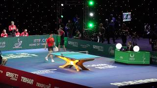 2018 ITTF Team World Cup - Liam Pitchford v Fan Zhendong