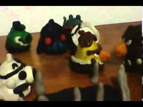 Angry Birds Star Wars Episode V (Clay Models) Part