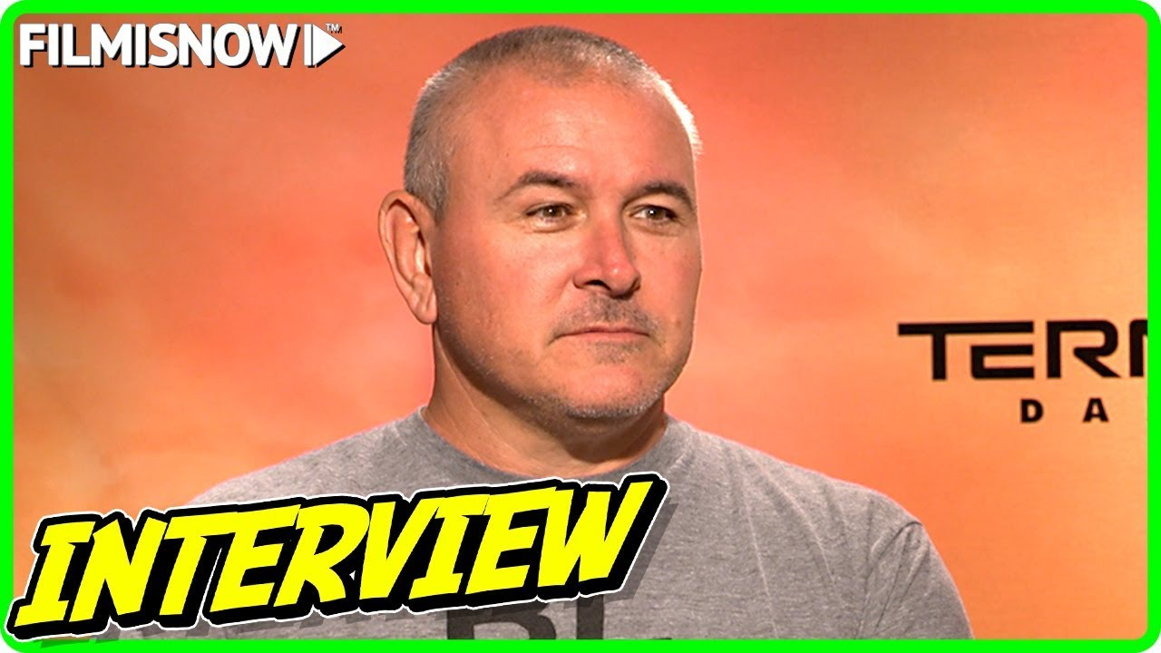 TERMINATOR: DARK FATE | Tim Miller talks about the movie - Official Interview