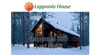 Luxury Log house Lapponia 330 Levi Spirit - Award winning ecological log homes for healthy living