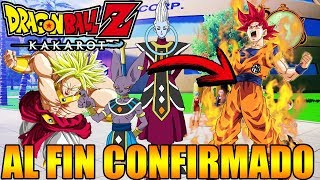DRAGON BALL Z KAKAROT AL FIN CONFIRMADO SUPER Y PELÍCULAS