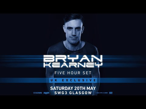 Bryan Kearney 5 Hour Set LIVE @ SWG3 Warehouse, Glasgow, May 2017