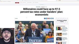 Bernie Would Tax Billionaires At 97.5% And His Plan Makes NO SENSE