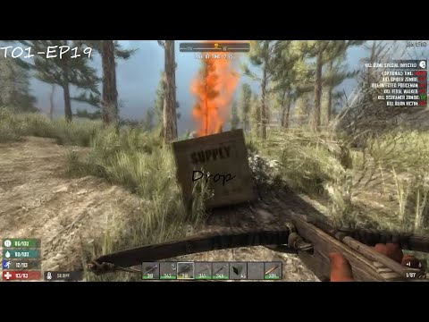 Mais um Supply Drop! - 7 Days To Die Gameplay #19 (T01-EP19)