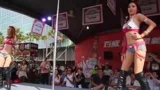 2012.07.21 2012高雄啤酒節 百威女郎鋼管熱舞秀