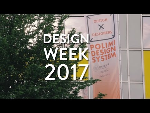 Eventi Design Week 2017 - Polimi Design System