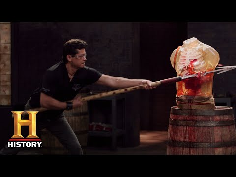 Forged in Fire: The Zande Spears Tested (Season 5, Episode 8) | History