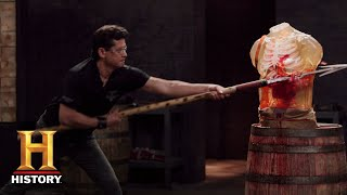 Forged in Fire: The Zande Spears Tested (Season 5, Episode 8) | History thumbnail