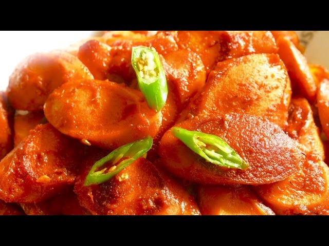 Hot & Spicy Sausage Curry - Nepali Style - Delicious Nepali Food Recipe!