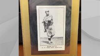 Baseball card collector finds rare Babe Ruth card worth millions