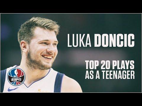 Luka Doncic's Top 20 NBA Plays as a Teenager   NBA Highlights thumbnail