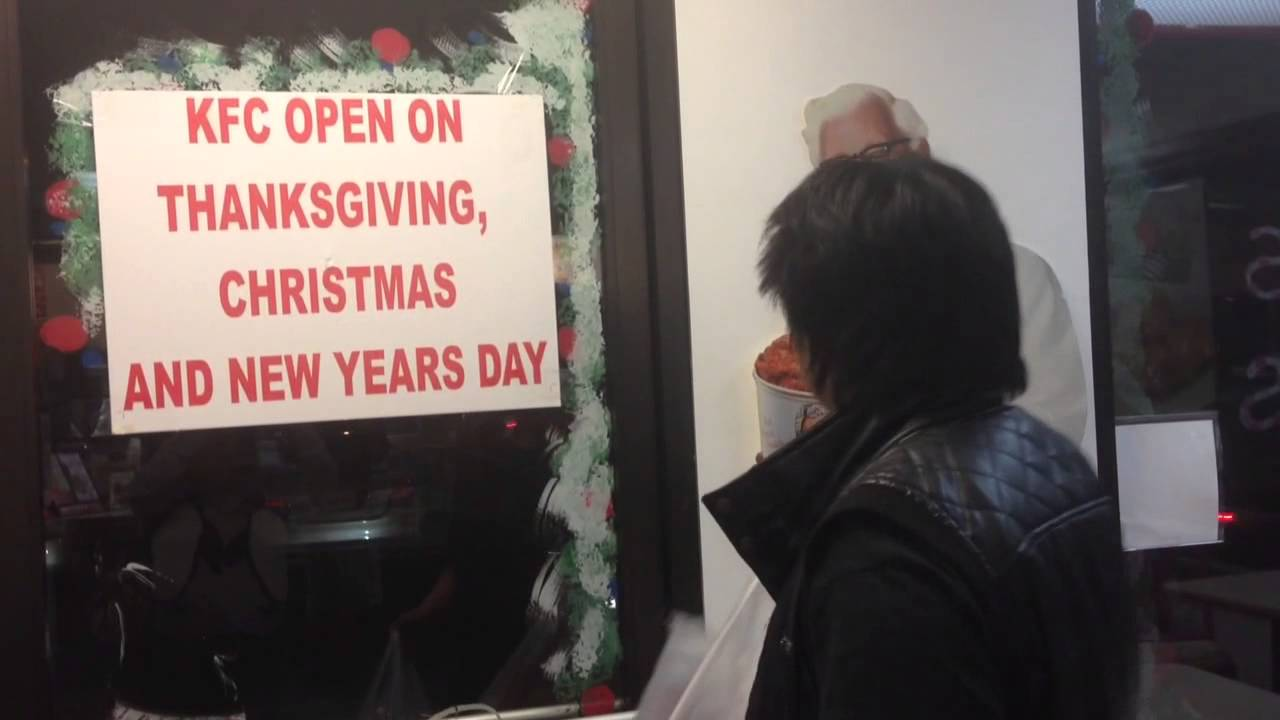 Japanese eat KFC on Christmas - YouTube