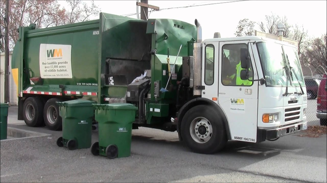 Freightliner Condor Mcneilus M A Garbage Truck January