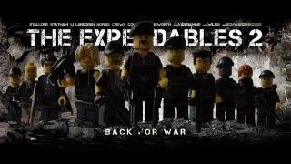 Lego: Comeback The Expendables + Bonus minifig review