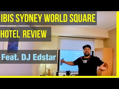 Ibis Sydney World Square - Hotel REVIEW (by DJ Edstar)