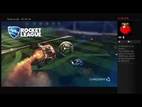 Rocket League avec Seukri