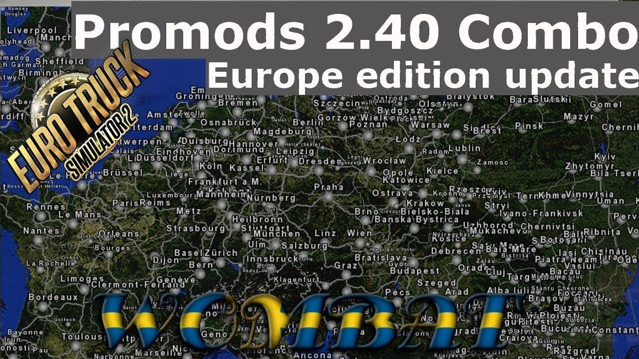 ETS2 1 34 - Promods 2 40, Rusmap, Southern region, Romania Extended,  YKSRSK, Great Steppe
