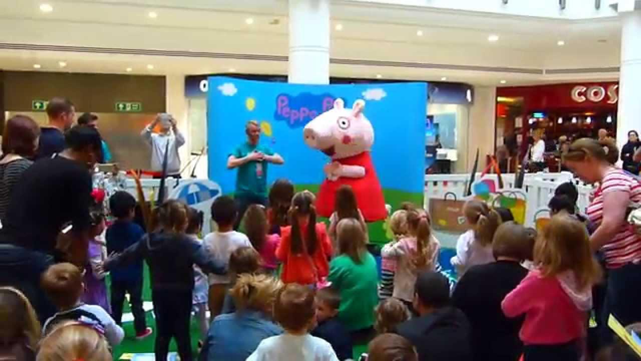 Peppa Pig Characters Mascot Costume Hire Rainbow Productions