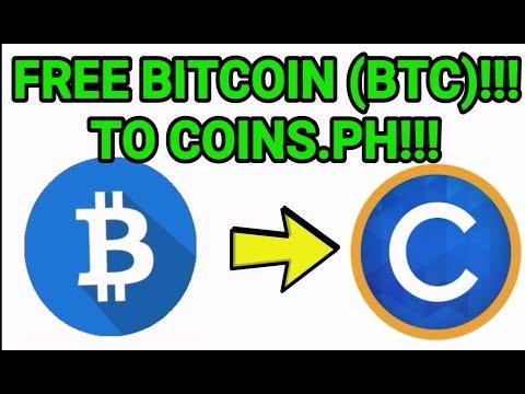 FREE BITCOIN(BTC)!!! Na Pwedeng Ilagay Sa Coins.ph