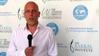 Джон Парсонс, декан ISOM, о программе обучения остеопатии