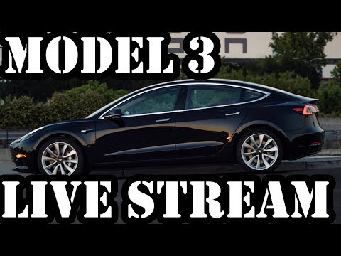 Tesla Model 3 Live Stream Announcement