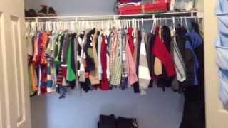 Closet Organization- preschool boy!! Closet tour Thumbnail