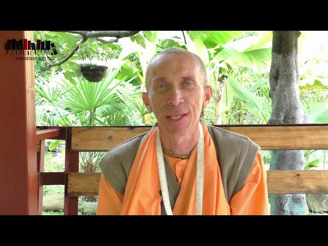 Обращение Е.С. Бхакти Ратнакара Амбариши Свами к марафону Шрила Прабхупады 2019