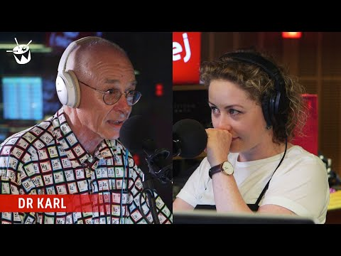 Dr Karl says farewell to Zan Rowe