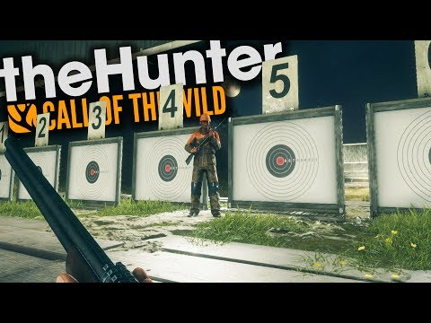 The Hunter Call Of The Wild | TESTING THE SHOOTING RANGE!!