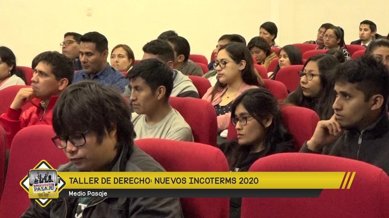 TALLER DE DERECHO NUEVOS INCOTERMS 2020   AGENDA MP ...