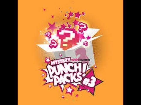 Shirt Punch Mystery Punch Pack #3 November 2016