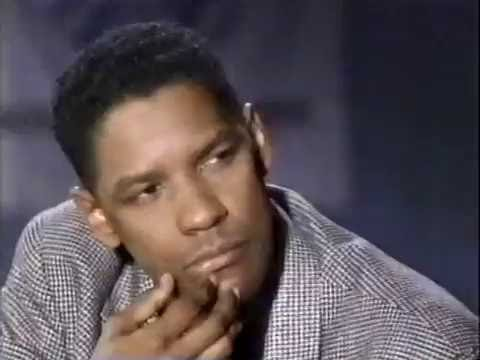 DENZEL WASHINGTON - BARBARA WALTERS TALK SHOW, 1992 (78)