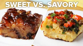 Breakfast Bake 2 Ways: Sweet Vs Savory • Tasty