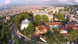 Bursa Çekirge 1  Murat cami ve etrafı havadan Dji Drone çekimleri Nihat
