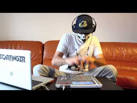 Doctor P - Flying Spaghetti Monster - Scarfinger - Remix - LIVE - MPC Studio