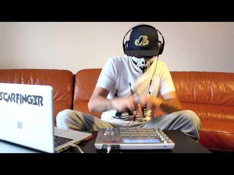 Doctor P - Flying Spaghetti Monster - Scarfinger - Remix - LIVE - MPC Studio