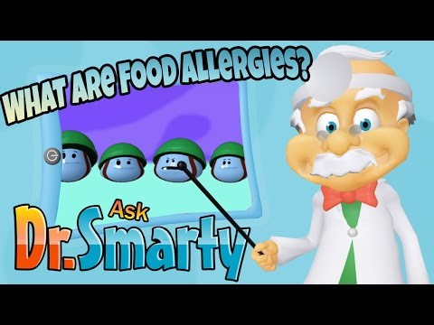 Why is My Throat Itchy? Peanut Allergies Explained for children - Ask Dr.Smarty