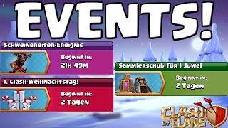 DIE CLASH OF CLANS EVENTS! || UPDATE || Let's Play CoC [Deutsch/German HD+]