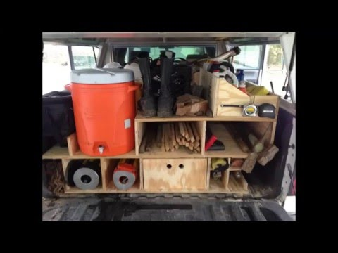 Pickup truck Survey/Storage Box