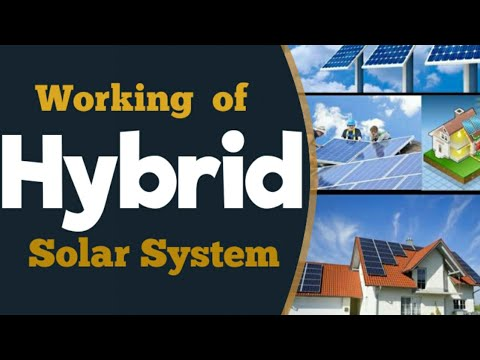 Solar Hybrid (On-grid + Off-Grid)  System Working, Net-metering with Battery