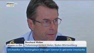 In Ellwangen entstand ein rechtsfreier Raum 03.05.2018 - Bananenrepublik