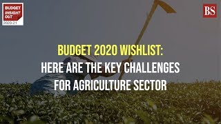 Budget 2020 wishlist: Here are the key challenges for agriculture sector